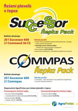 Řepka Pack - Agroprotec