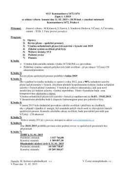 zápis výboru 2015-01