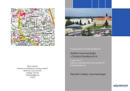 Setkání traumatologů v Českých Budějovicích Aktuální otázky