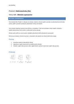 4.9 – Metoda superpozice