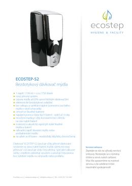 ECOSTEP-S2 Bezdotykový dávkovač mýdla