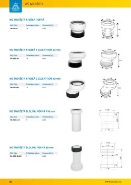 Sanitární sortiment