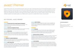 avast! Premier - Avast Pro Antivirus 2015