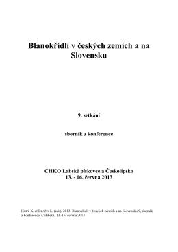 Sborník - Hymenoptera CZ & SK