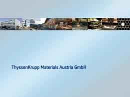 (81,81,81), 24pt - ThyssenKrupp Materials Austria GmbH