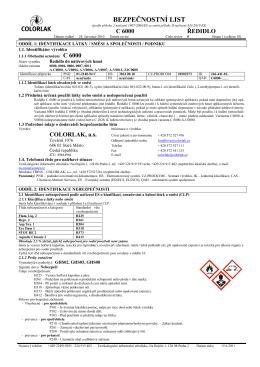 C6000_bezpečnostní list.pdf - Eshop