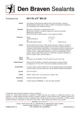 DUVILAX® BD-20