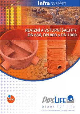 Revizní a vstupní šachty 630/800/1000 - TZB-info