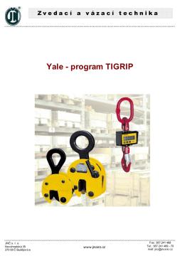 Yale - program TIGRIP