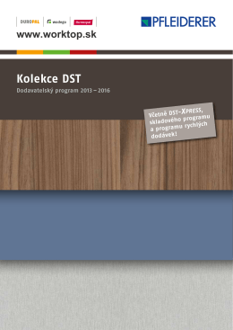 Kolekce DST - worktop.sk