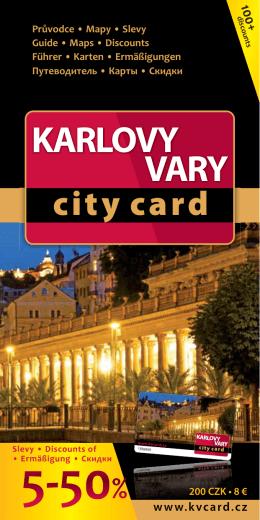 Karlovy Vary City Card
