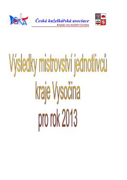 Výsledky mistrovstvi jednotlivcu 2013 oprava