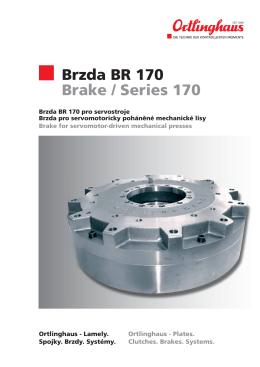 Brzda BR 170 Brake / Series 170 - TROMA