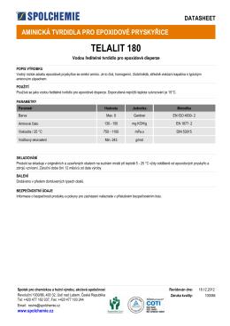 TELALIT 180 - Spolchemie