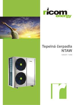 Tepelná čerpadla NTAW