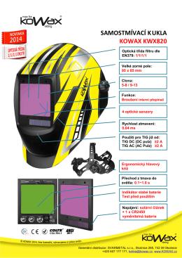 Samostmívací kukla KOWAX KWX820