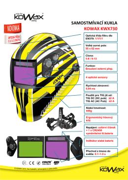 Samostmívací kukla KOWAX KWX730