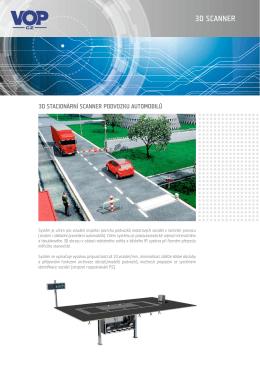 3D SCANNER - VOP CZ, sp