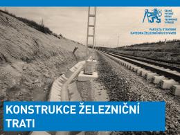 Cvičení 4 - Konstrukce železniční trati