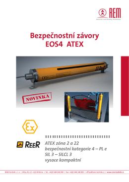 Bezpečnostní závory EOS4 ATEX - REM