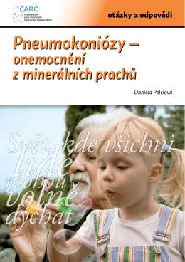 Pneumokoniózy – onemocnění