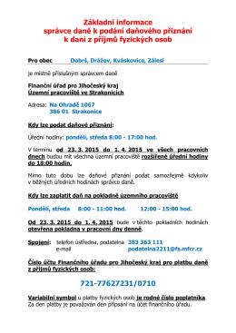 Základní informace DPFO pro obce r. 2015x