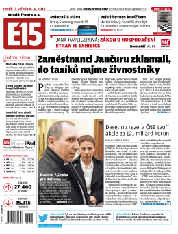 Zaměstnanci Jančuru zklamali, do taxíků najme