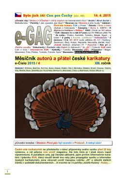 Měsíčník autorů a přátel české karikatury