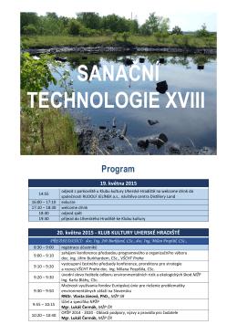 Přiložený dokument - program konference