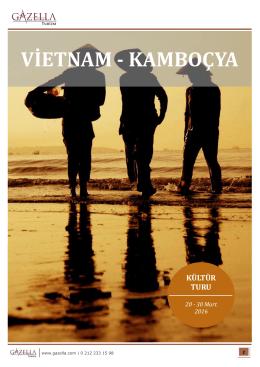 VİETNAM - KAMBOÇYA