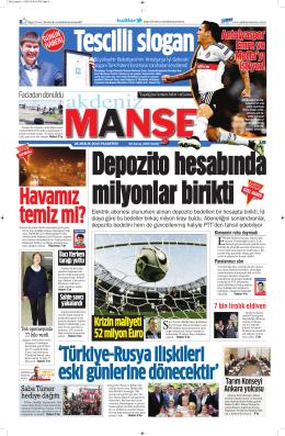 Krizin maliyeti 52 milyon Euro - Antalya Haber - Haberler
