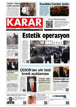 23 Aralık 2015.qxd - Kesin Karar Gazetesi