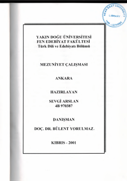 4b 970387 danışman doç. dr. bülent y{)rulmaz. kıbrıs