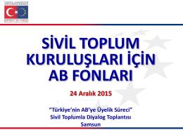 Türkiye - Avrupa Birliği Bakanlığı