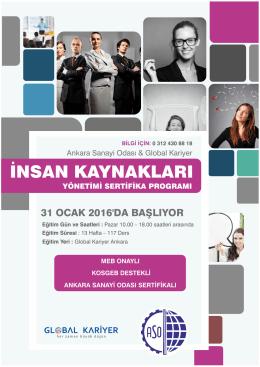insan kaynakları - Ankara Sanayi Odası