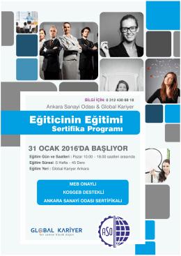 Eğiticinin Eğitimi - Ankara Sanayi Odası