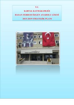 hasan ferruh ozgen anadolu lısesı - Kartal İlçe Milli Eğitim Müdürlüğü