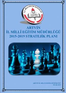 artvġn ġl mġllî eğġtġm müdürlüğü 2015-2019 sp taslağı