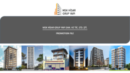 catalogue - MSK HİSAR GRUP