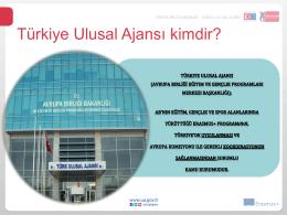 Türkiye Ulusal Ajansı kimdir?