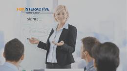 SİZİNLE … - FGK Interactive