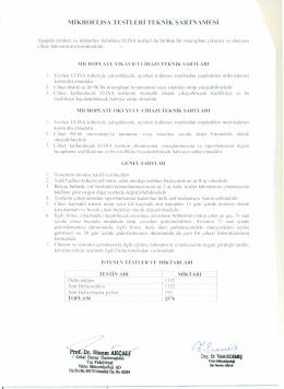 5.grup teknik şartname