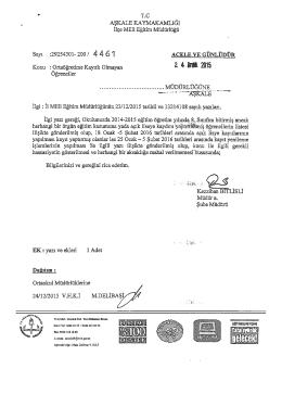 ortaöğretime kayıtlı olmayan öğrenciler 24.12.2015 16:09