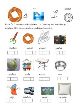 s sesi / harfi etkinlikleri pdf