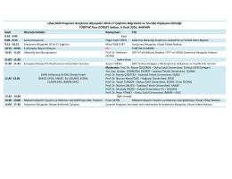 Ufuk 2020 Programı Araştırma Altyapıları 2016