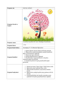Hayal Ağacı - 75.Yıl Ortaokulu