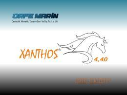 xanthos 4.40 tanıtım