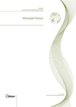 Afrika`daki Türkiye - Dunyabulteni