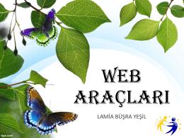 Web Araçları
