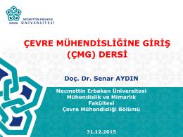 PowerPoint Sunusu - Necmettin Erbakan Üniversitesi